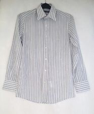Dolce&Gabbana Men's Regular Striped Button Cuff Formal Shirts