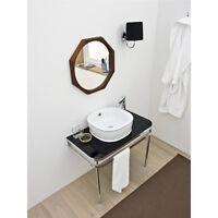 Fregadero Lavado Diseño Moderno Azuley de Apoyo de cerámica Blanco