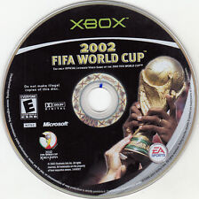 2002 FIFA World Cup (Microsoft Xbox, 2002) DISC ONLY WORKS