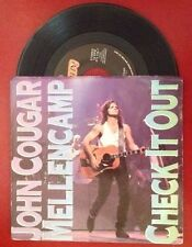 JOHN COUGAR MELLENCAMP Check It Out b/w We Are The People  45 RPM  870 126 7