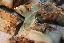 9lbs Lemony Green Chrysoprase - Nickel Included Agate Ready to Chop up! 892