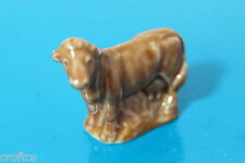 WADE WHIMSIE RARE ORANGE COW FROM SET 6 2ND ISSUE ENGLISH WHIMSIES good ref 6