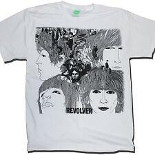 Camiseta De Los Beatles-Revolver 100% Oficial John Lennon Paul Mccartney