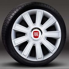 """4x14"""" wheel trims, Hub Caps, Covers to fit Fiat 500"""