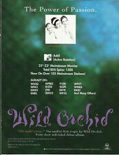 Fergie Wild Orchid At Night Trade Ad Poster for 1996 Cd