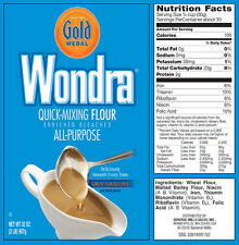 Gold Medal WONDRA Flour 32 Ounce  for Lump-free Sauces and Gravy
