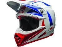 Casque Motocross BELL Moto-9 Flex Vice Bleu /,Rouge