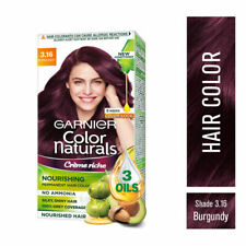 Garnier Color Naturals Creme Nourishing Hair Color - 3.16 Burgundy 70ml+60gm