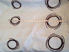 10 Mts  Eau De Nil  Velvet Chocolate Swirl Retro Design Faux Silk Fabric