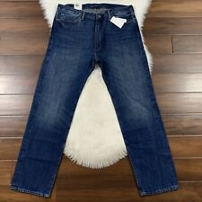 Levi's Made & Crafted Men's 38 X 34 Rail Straight Japanese Selvedge Denim Jeans
