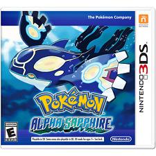 Pokemon Alpha Sapphire (Nintendo 3DS, 2014)