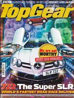 TOP GEAR Magazine No 159 December 2006 Mercedes SLR 722 Audi R8 Lambo Spyder