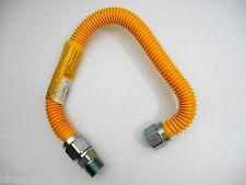 """BRASSCRAFT CSSB11-24 PROCOAT ¾"""" MIP X ¾"""" MIP 24"""" STAINLESS GAS CONNECTOR"""