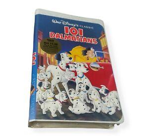 101 Dalmatians VHS Walt Disney The Classics 1992 Black Diamond Brand New Sealed