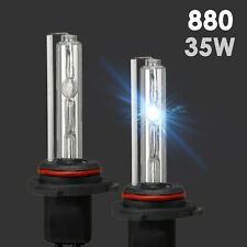 2x XENON 880 881 HID Bulbs AC 35W Fog Light Replacement Wire adapter All Color