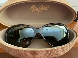 Women Maui Jim Sunglasses Frame~Tortoise Shell~Authentic Case~FREE SHIP in US!