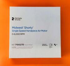 Midwest Shorty Slowspeed Dental Handpiece Single Speed Motor New Sealed Box