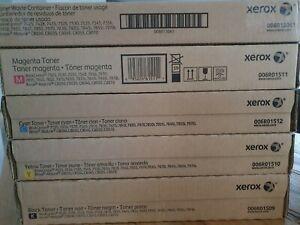 Xerox Toner Set für workcenter 7525-7970i oder AltaLink C8030-C8070, Neu