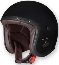 jethelm CABERG Freeride Talla: L Color: NEGRO MATE Chopper Harley inkl.visier