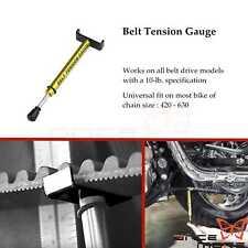 Motorcycle Drive Belt Tension Gauge Kit Belt Tension Tools For Harley Davidson