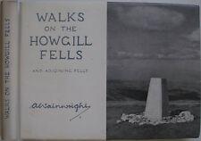 1972 ALFRED WAINWRIGHT WALKS ON THE HOWGILL FELLS 2nd IMPRESSION  £1.05 WRAPPER
