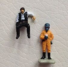 Star Wars Micro Machines Ellorrs Madak And Han Solo Figures Lot Loose