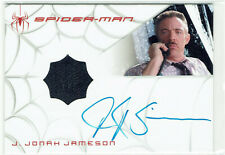 Spider-Man 3 Dealer Incentive Autograph Costume Card J.K. Simmons as J Jameson