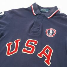 Vintage POLO by Ralph Lauren USA OLYMPIC POLO | Da Uomo S-M | Retro Rugby T-shirt