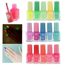 15 Colours Nail Art Polish Glow in the Dark Polish Fluorescent Neon Luminous