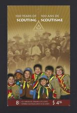 Canada  BK357  # 100 YEARS OF SCOUTING     VF-NH  2007  Post Office Fresh