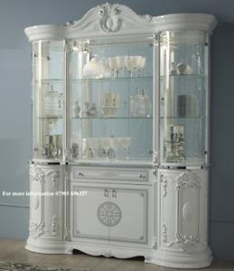 Greta Italian Display Cabinet 4 door Italian Showcase Greta display unit
