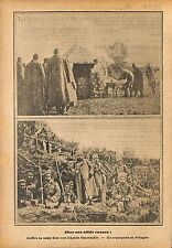 Russia Expeditionary Force Mass Orthodox Priest Poland WWI 1915 ILLUSTRATION