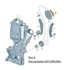 Original Seat Steuerkette Toledo 6JA 1,2 1,4 TSI Alhambra 7N 1,4 TSI 2,0