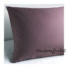 """IKEA Pillow case Euro Sham 26 x 26"""" GASPA Pillowcase Dark Lilac Purple BNOP"""