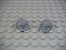 Lego Star Wars 2 casquettes gris foncé/Dark Bluish Gray cavalry caps NEW 30135