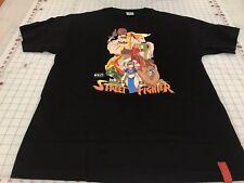 BAIT Street Fighter Black T Shirt Sz L Capcom Gaming Shirt