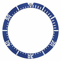 BEZEL INSERT FOR OMEGA SEAMASTER CHRONOGRAPH DIVER WATCH