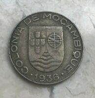 1936 Mozambique 1 One Escudo - Nice