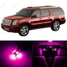 10 x Pink/Purple LED Interior Light Package For 2000 - 2006 GMC Yukon