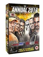 WWE Annual 2016 6x [DVD] *NEU* The Best of Raw, Smackdown & PPV Matches 2015