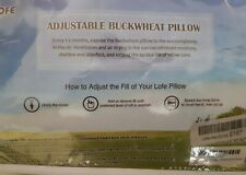Lofe Adjustable Buckwheat Pillow Size14*20 inch.New