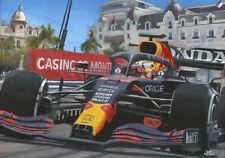 Giclee 2021 Grand Prix van Monaco door Toon Nagtegaal (OE)