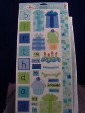 NEW DOODLEBUG DESIGN INC STICKERS BIRTHDAY BOY 682 1630