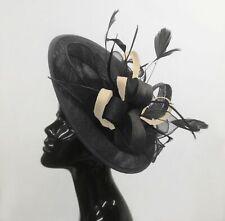799d1fab1c9a7 Black Cream Fascinator in Women's Fascinators & Headpieces for sale ...