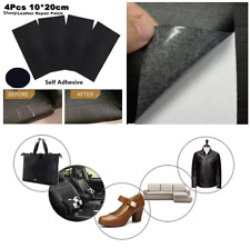 4X Multi-function Black Sheep Leather Repair Patch & Vinyl Sticker for Car Home(Fits: More than one vehicle)