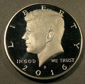 2016 - S Clad Gem Proof Kennedy Half Dollar
