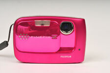 Fujifilm Finepix Z30 10MP Ultra Compact Digital Camera in Shiny Pink with Case