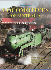 LOCOMOTIVES OF AUSTRALIA 1850'S - 2007 - LEON OBERG   trains   cd