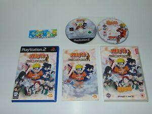 Naruto Ultimate Ninja + Bonus Anime DVD    Sony PlayStation 2 PS2 PAL   Complete