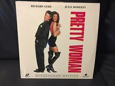 PRETTY WOMAN German PAL LaserDisc Laser Disc Richard Gere Julia Roberts WS 2Disc